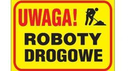 znak drogowy | roboty drogowe