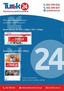 Turek24 - ulotka reklamowa