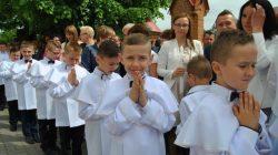 I komunia święta w parafii pw. trójcy Świętej w Skęczniewie (2017)