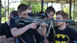 Uczniowie ZST Turek w bazie wojskowej w Leźnicy Wielkiej
