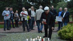 Turek. Łańcuch Światła w parku im. Konstytucji 3 Maja
