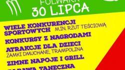 Wiejski Siłacz - festyn sportowy w Dziadowice-Folwark