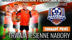 Akademia Piłkarska Reissa - jesienny nabór (2017)