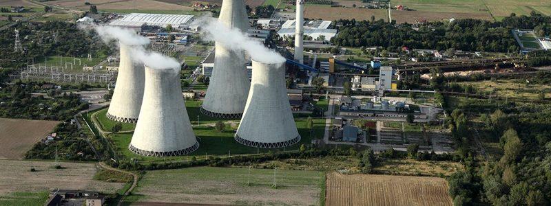 Kominy elektrowni Adamów