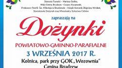Dożynki powiatowo-gminno-parafialne (2017)