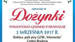 Dożynki powiatowo - gminno - parafialne