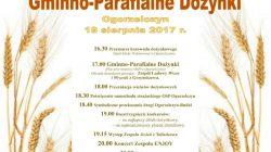 Dożynki gminno - parafialne w Ogorzelczynie