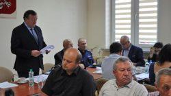 Przykona - sesja rady gminy