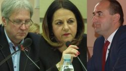 Radni PiS - Jerzy Pionke, Maryla Stolarek, Dariusz Jasak