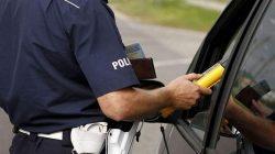 Kontrola policji (fot.. KWP Olsztyn)