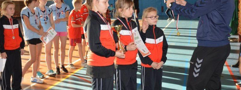 Rozgrywki w badmintonie (fot. powiat turecki)