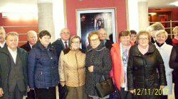 Seniorzy z Władysławowa w Teatrze im. Bogusławskiego w Kaliszu