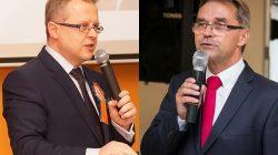 Dariusz Młynarczyk i Piotr Rybarski