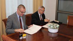 Podpisanie umowy pomiędzy TUTW a PWSZ Konin