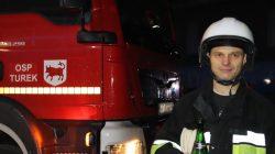 OSP Turek. Odbiór nowego wozu strażackiego