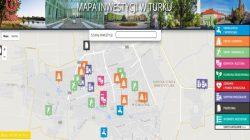 Turek. Mapa inwestycji