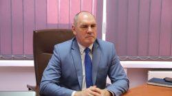 Turek. Konferencja prasowa dot. szpitala- dyr Grzegorz Gibaszek