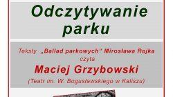 Ballady parkowe Mirosława Rojka