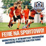 Ferie na sportowo z Akademią Piłkarską Reissa