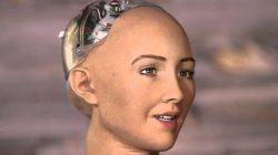 humanoid Sophia