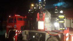 Brudzew. Pożar budynku mieszkalnego w Koźminie