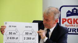 Turek. Konferencja prasowa dot. ceny ciepła