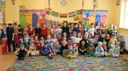Wyszyna. Bal karnawałowy przedszkolaków