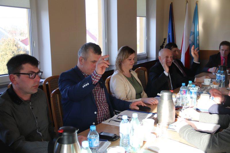 Brudzew. Sesja rady gminy