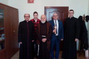 Relikwie bł. ks. Jerzego Popiełuszki w parafii Tuliszków