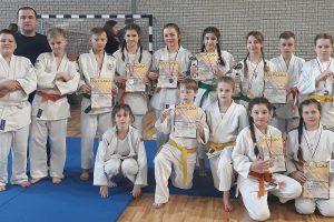 Młodzi judocy z Tuliszkowa na mistrzostwach Wielkopolski szkół podstawowych