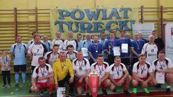 Kaczki Średnie. Mistrzostwa Samorządowców Powiatu Tureckiego w Halowej Piłce Nożnej
