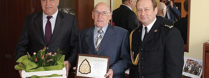 Komendant senior PSP Turek skończył 90 lat