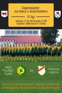 Mecz Tur Turek vs Polonia Leszno