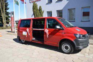 Nowy samochód będzie woził niepełnosprawnych w gminie Kawęczyn