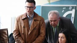Spotkanie burmistrza z mieszkańcami osiedla górniczego (12.04.2018)