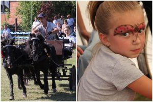 W Kawęczynie podziwiano piękne konie i świętowano Dzień Dziecka