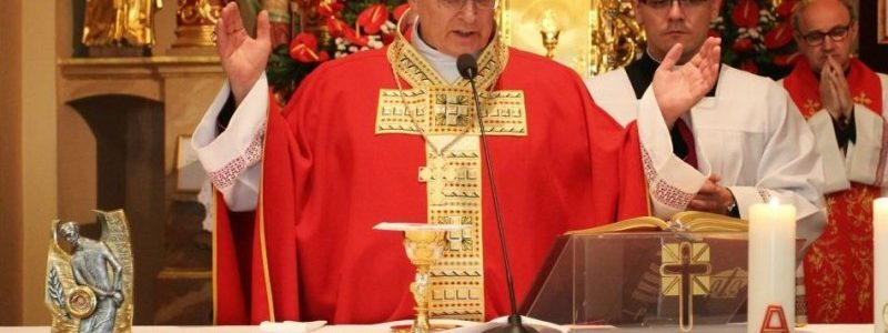 Tuliszków. Uroczystości w kościele św. Wita (fot. Karol Zieliński)