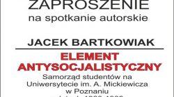 Turek. Promocja książki Jacka Bartkowiaka