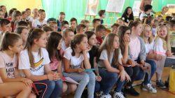 SP1 Turek. Spotkanie z bajkopisarzem Grzegorzem Kosdepke