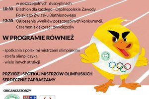 Już jutro Dzień Olimpijski w Kaczkach Średnich. Nie może Cię tam zabraknąć!