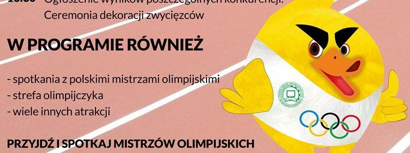 Kaczki Średnie. Dzień olimpijski 2018