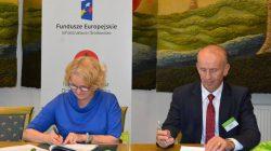 Modernizacja oczyszczalni ścieków w Turku (podpisanie umowy)