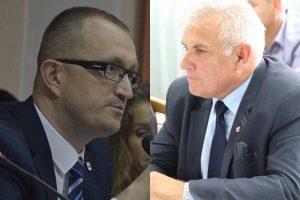 Romuald Antosik i Karol Mikołajczyk