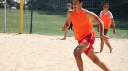 Grąbków. Wakacyjny Turniej Beach Soccera Junior 2018