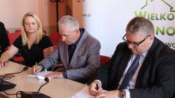 Podpisanie umowy - Wielkopolska Odnowa Wsi