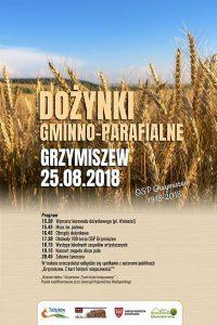 Tuliszków. Dożynki gminno-parafialne w Grzymiszewie