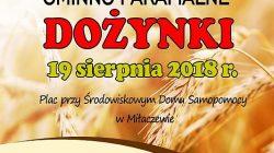 Malanów. Dożynki gminno-parafialne w Miłaczewie