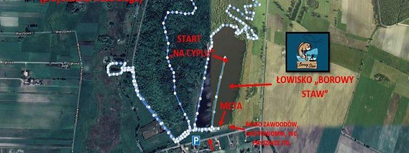 Bieg Husar Race - mapa
