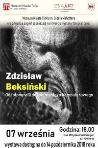 Turek. Wystawa fotografii Zdzisława Beksińskiego
