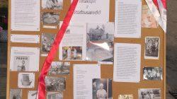 Brudzew. Zespół Razem na jarmarku kulturowym w Licheniu